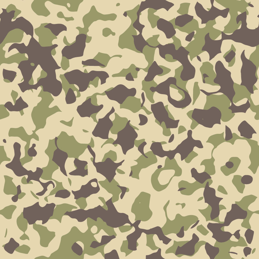 Camouflage Texture Patterns Vector Tiles