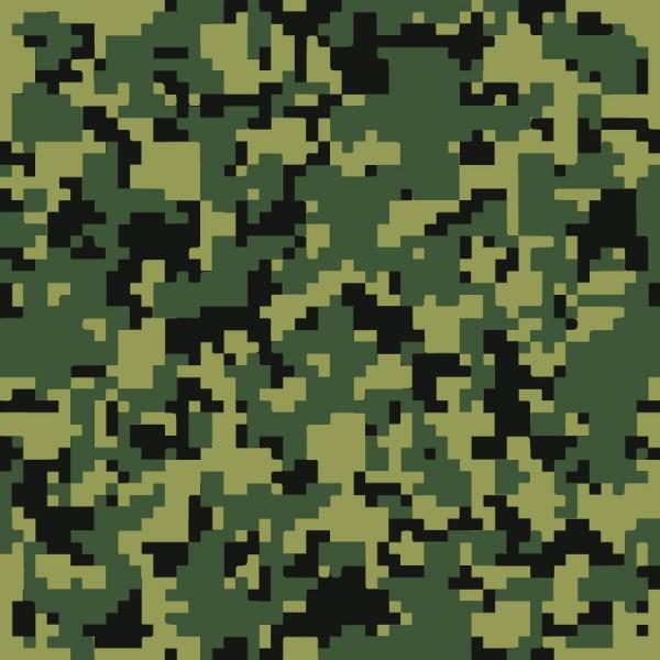 Как создать пиксельный камуфляж
