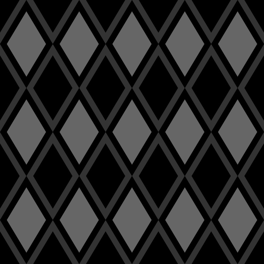Black And White Diamond Pattern Wallpaper