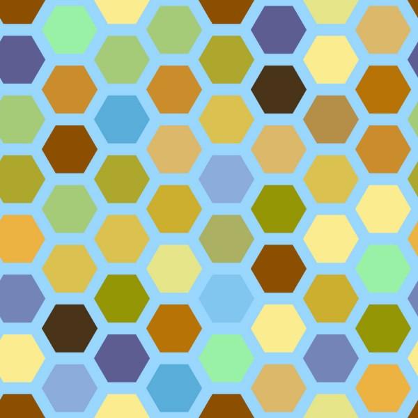 Honeycomb Hexagonal Tiles   Vector Tiles