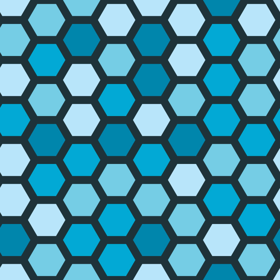 Honeycomb Hexagonal Tiles | Vector Tiles