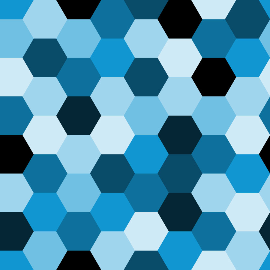 Honeycomb Hexagonal Tiles Vector Tiles