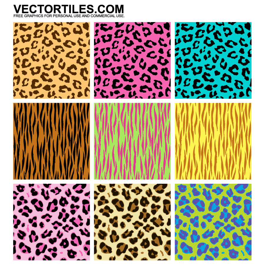 Leopard Print Vector Free Download